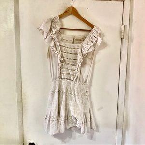 Love Shack Fancy Frilly Ruffle Dress